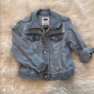 Toddler Girl Denim Jacket